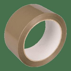 Скотч-упаковочный-коричневый